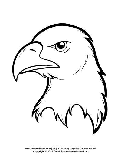Bald Eagle clipart pagemaker Best Pinterest Coloring craft 25+
