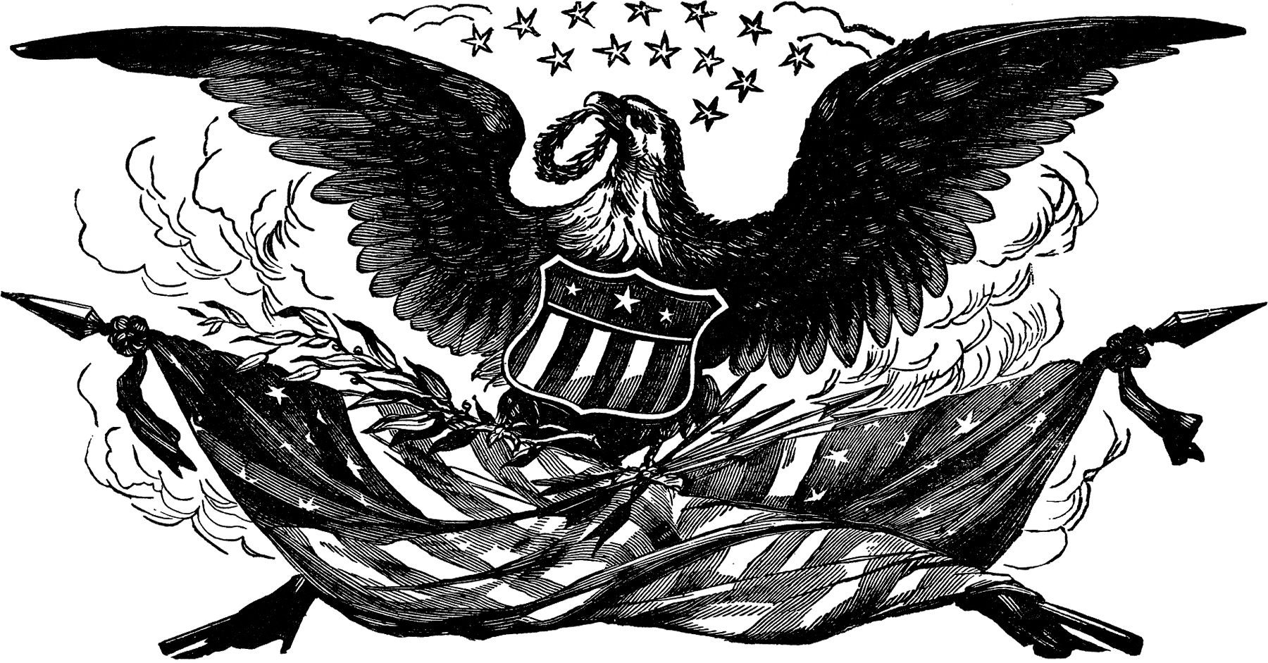 Black Eagle clipart patriotic The Graphics with Image! Image
