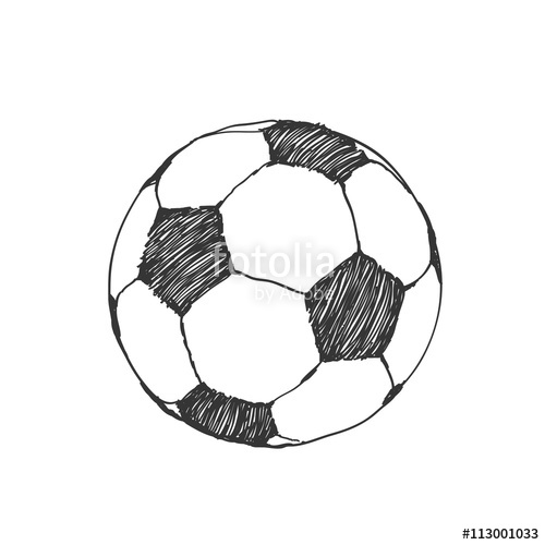Drawn football amercian Sketch Soccer icon Football hand