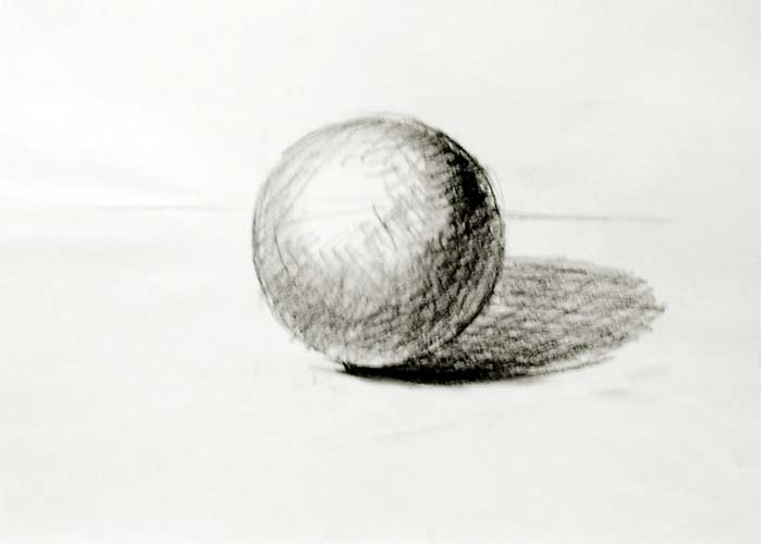 Drawn sphere Drawing of Drawing sphere ball