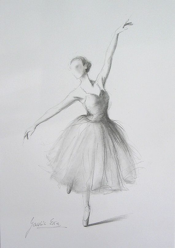 Drawn ballerine hand drawn Ewa Gawlik on Best of