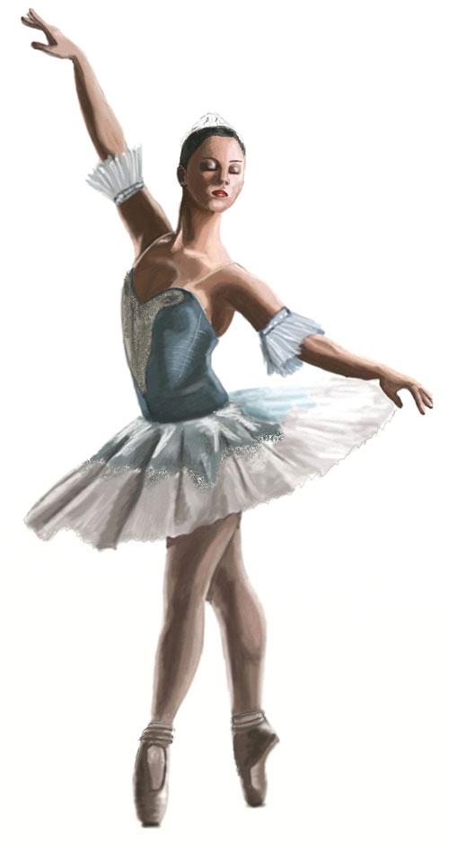 Drawn ballerina By Draw Step Draw Ballerina