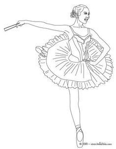 Drawn ballerina color Pinterest Story Ballerina MEUS