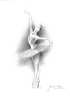 Drawn ballerina croqui #9