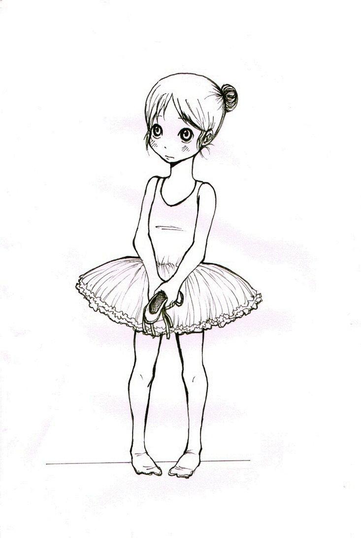 Drawn ballerina deviantart #14