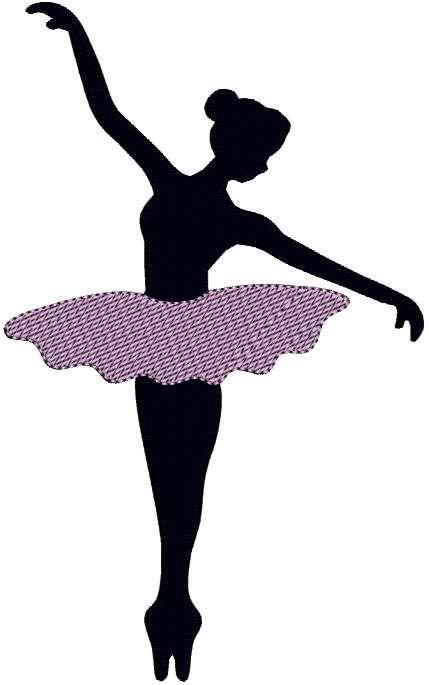 Drawn ballerina silhouette To Season: INSTANT Dancer Dance