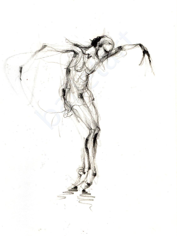 Drawn ballerine #12