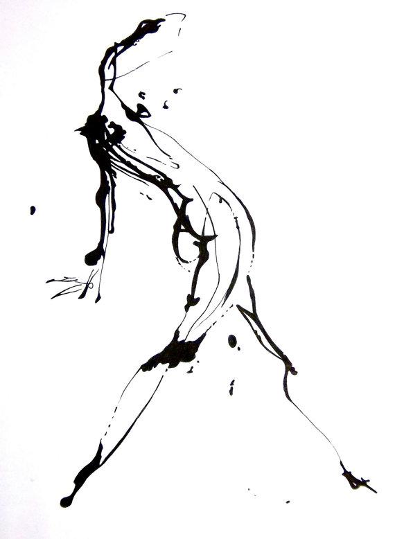 Drawn figurine human being Drawing Wall Original Figure or