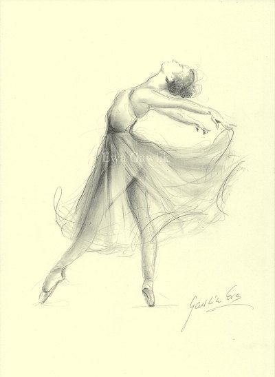 Drawn ballerine ballerina dress Dessin 25+ Print Pinterest on