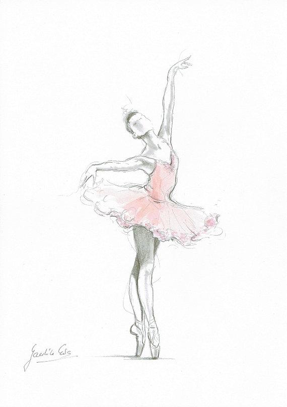Drawn ballerine ballerina dress  ballerine ballerine impression Training
