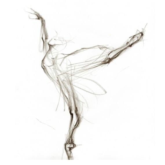 Drawn ballerina ballet arabesque Thumbnail Thumbnail  do skeleton