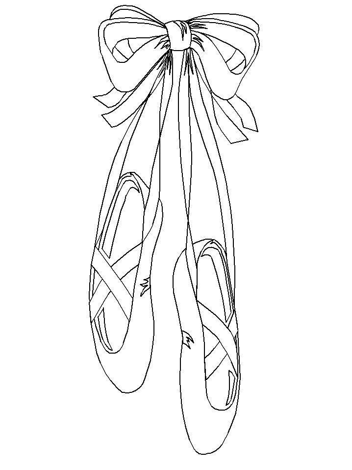Drawn ballerine color Colored ideas Pinterest Ballet Coloringpages1001