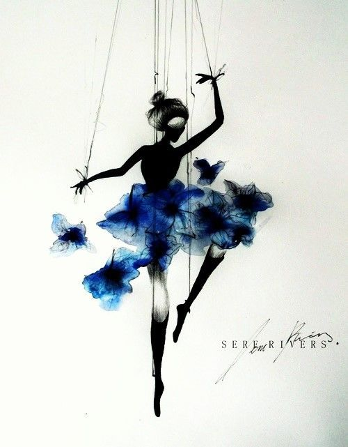 Drawn ballerine color Best ideas ballerina colorful Ballerina