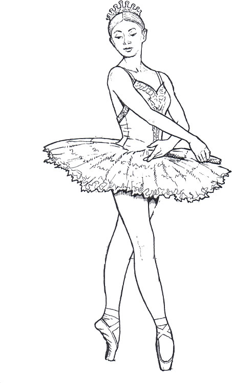 Drawn ballerine color 3 To Shape To Shape