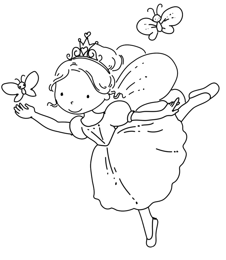 Drawn ballerine coloring page Ace 3 83 Images Images
