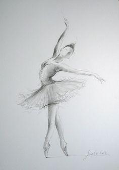 Drawn ballerine creepy BALLERINA x  disegno 12