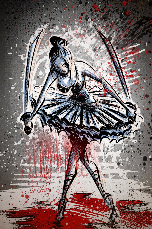 Drawn ballerine creepy The Ballerina item? Blood Samurai