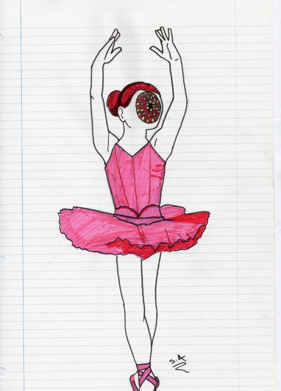 Drawn ballerine creepy ValkyrieValhalla ValkyrieValhalla by by Creepy