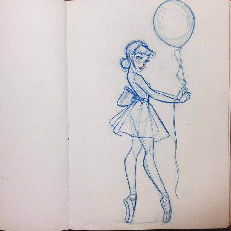 Drawn ballerine cute Ballerina ideas Pinterest Cute on