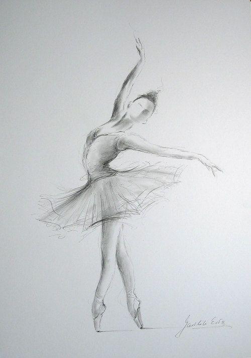 Drawn amd ballerina Best Ballerina weißem ideas sketch