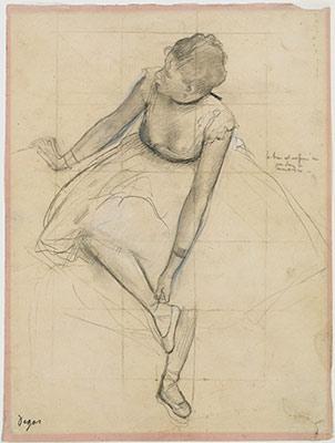 Drawn ballerina degas And Edgar (1834–1917): Essay Heilbrunn