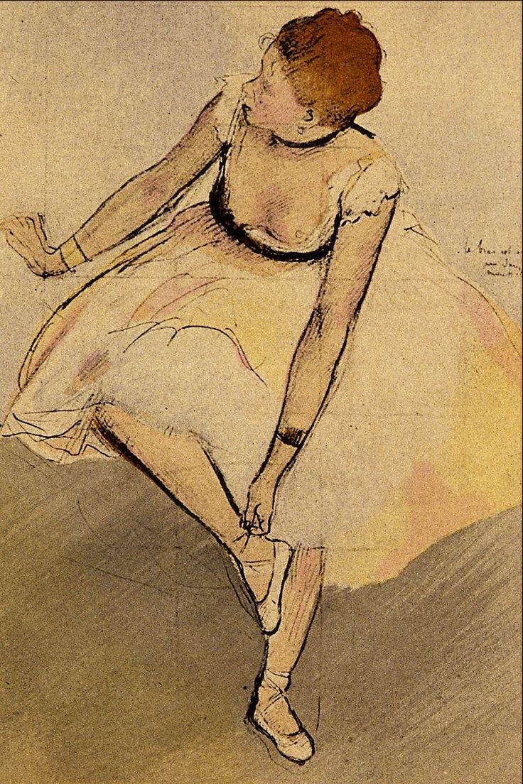 Drawn ballerina degas Org Degas http://commons best images