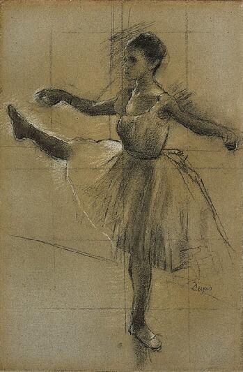 Drawn ballerina degas … Degas Edgar Pinteres… Edgar