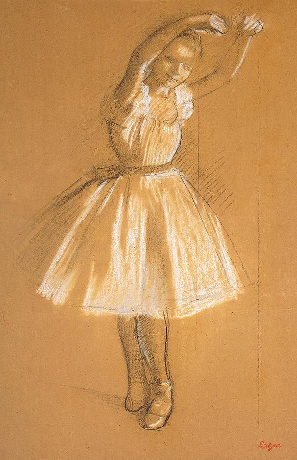 Drawn ballerina degas Dancer Ballerina more! drawing and