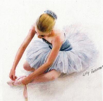 Drawn ballerina derwent inktense Polychrome/promarkers/inktense best images Pinterest This