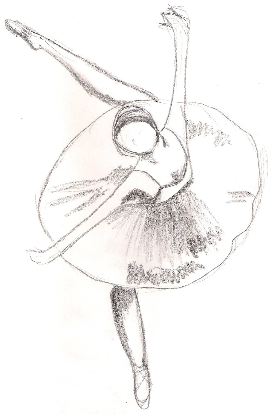 Drawn amd ballerina By sketch Draw Pinterest Draw