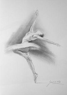 Drawn ballerine face WHITE Ballerina 12 Ewa ORIGINAL