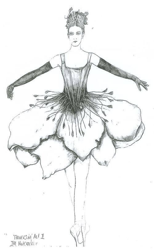 Drawn ballerina fashion illustration And Illustrations Pin Find and