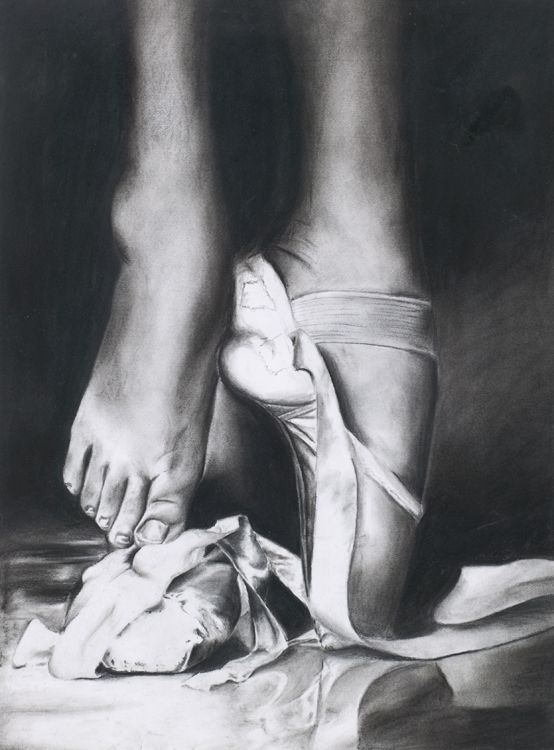 Drawn ballerine feet Drawings more of this Pin