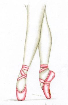 Drawn ballerine feet încercat With Pinterest Signs You're