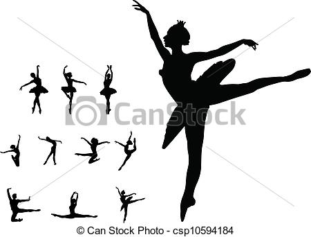 Drawn ballerine female dancer Dance ballet dance ballet girl