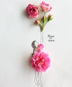 Drawn ballerine flower Using Creates Illustrations ༺Drawing Real