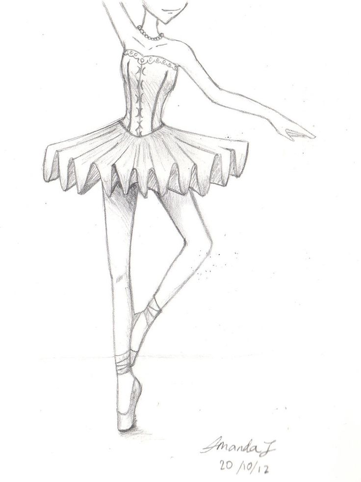 Drawn ballerine man easy At Best com! Learn drawing