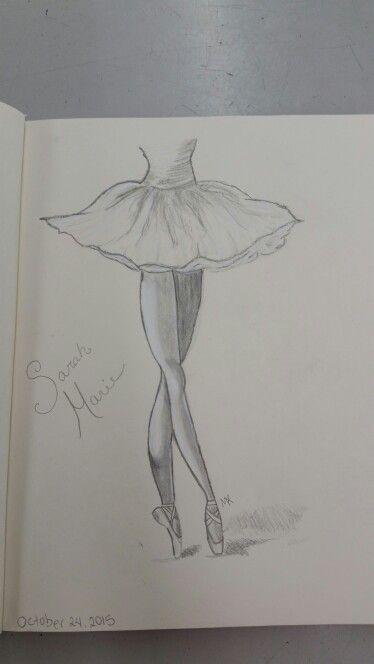 Drawn ballerine man easy Best sketch Ballerina May Pinterest