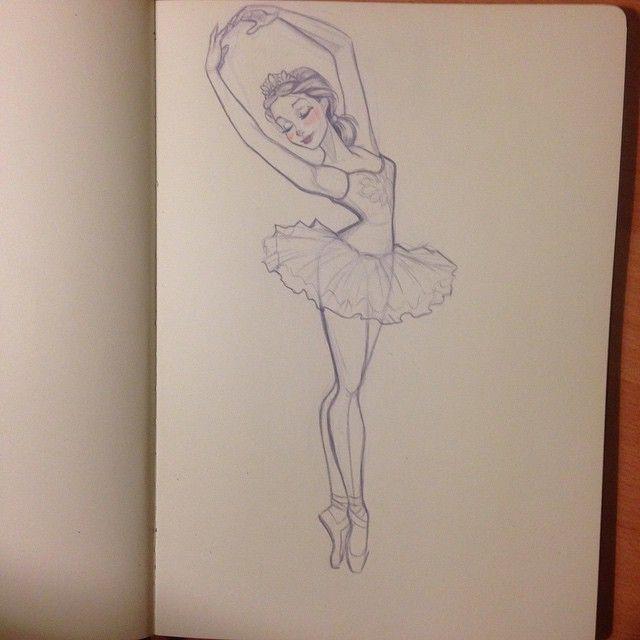 Drawn ballerine man easy Pinterest drawing Ballerina 20+