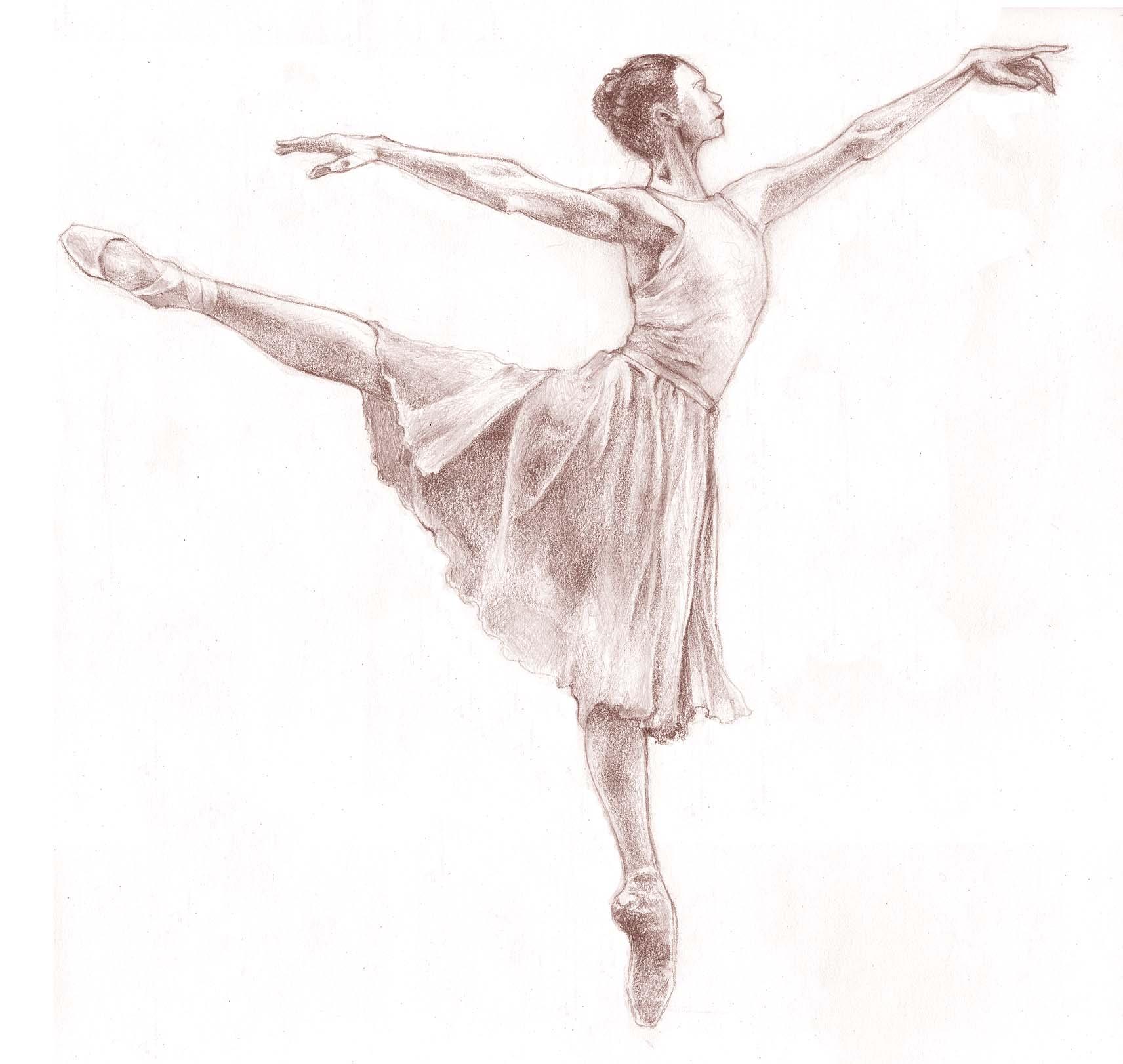 Drawn ballerina people dancing Art/Photo Underneath kids Art/Photo Teen