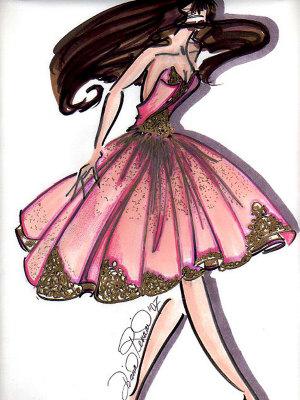 Drawn ballerina pink ballerina At Ballerina com Drawing ArtistRising