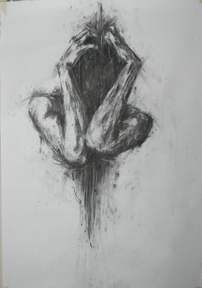 Drawn sad dark Art art Pinterest Art sad