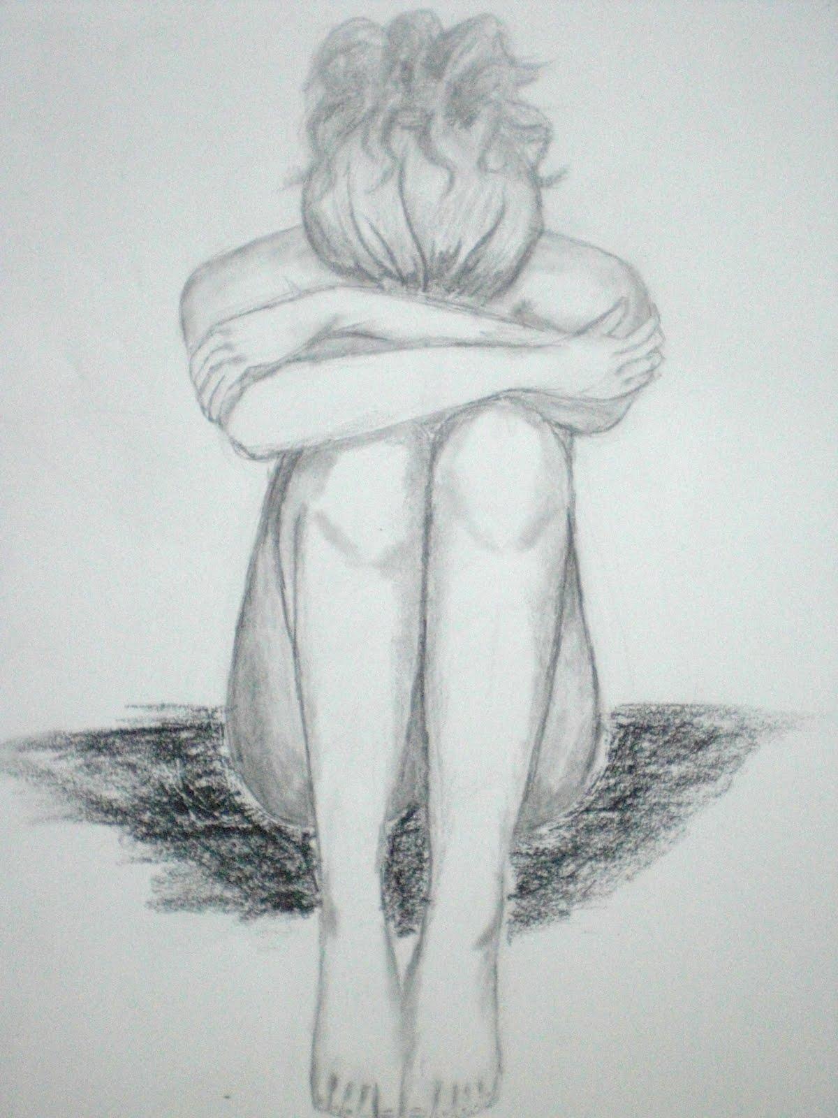 Drawn sad happiness Ve Drawing BoyamaTeknikleri really love