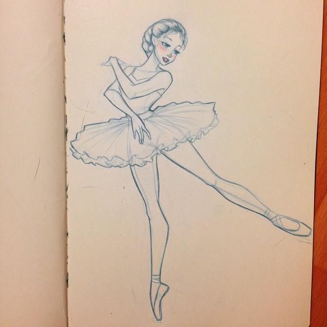 Drawn ballerina people dancing Drawing on People Pin Instagram
