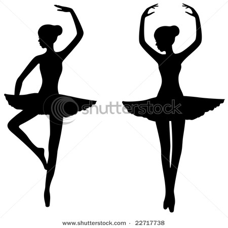 Drawn ballerina silhouette On 67 images silhouette best