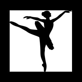 Drawn ballerina silhouette Pinterest  Girls Silhouette INSPIRATION: