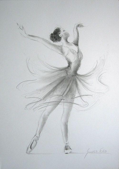 Drawn ballerine sketch Drawing 20+ on Best