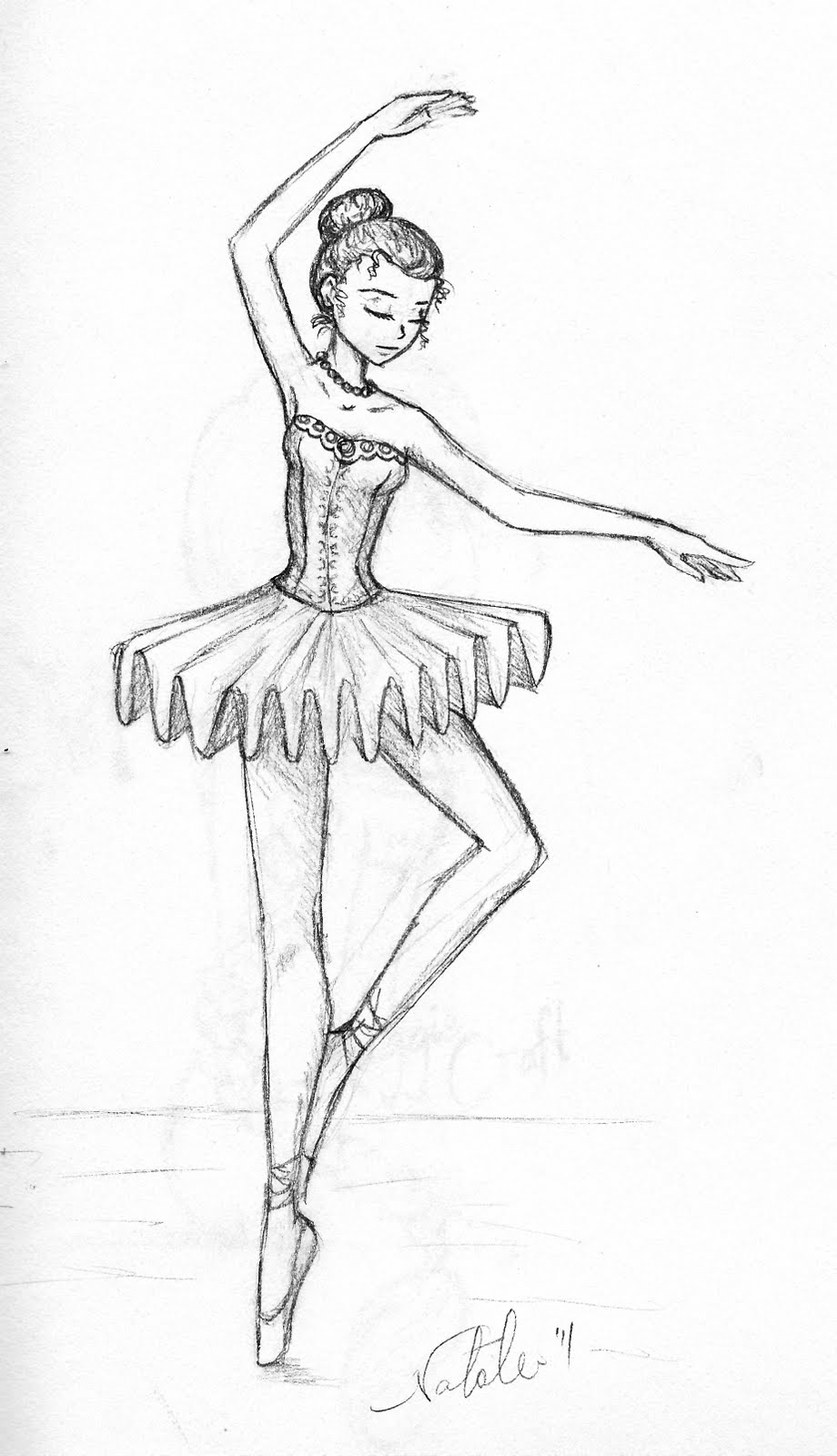 Drawn amd ballerina Now Right that for them