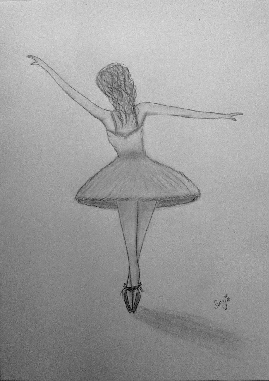 Drawn ballerine sketch Lady1985 Lady1985 Drawing on Sketch