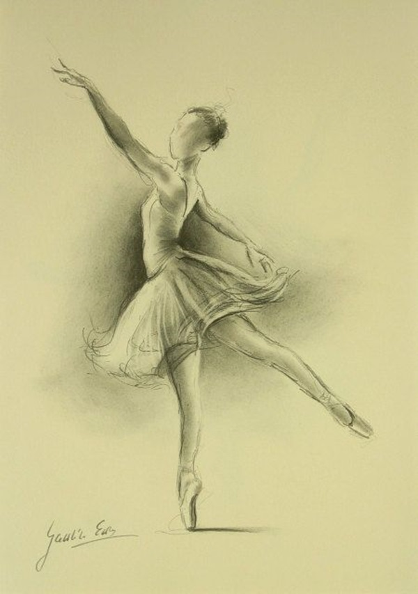 Drawn ballerine sketch Drawings Drawings Sketches  And